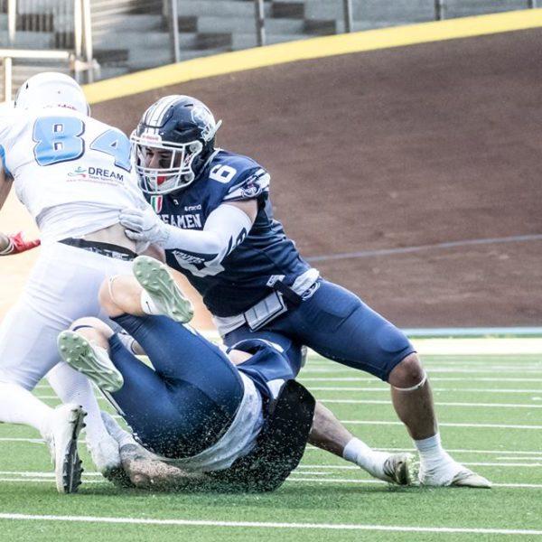 Football Americano - Seamen, Panthers e Dolphins dominano la giornata