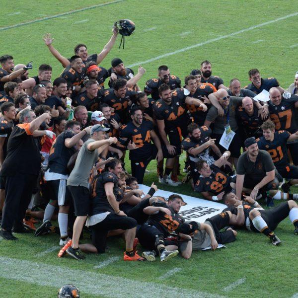 I Rhinos Milano trionfano nel Silver Bowl contro i Pretoriani Roma