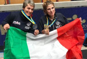 Europei tennistavolo paralimpici, oro per Rossi e argento per Brunelli