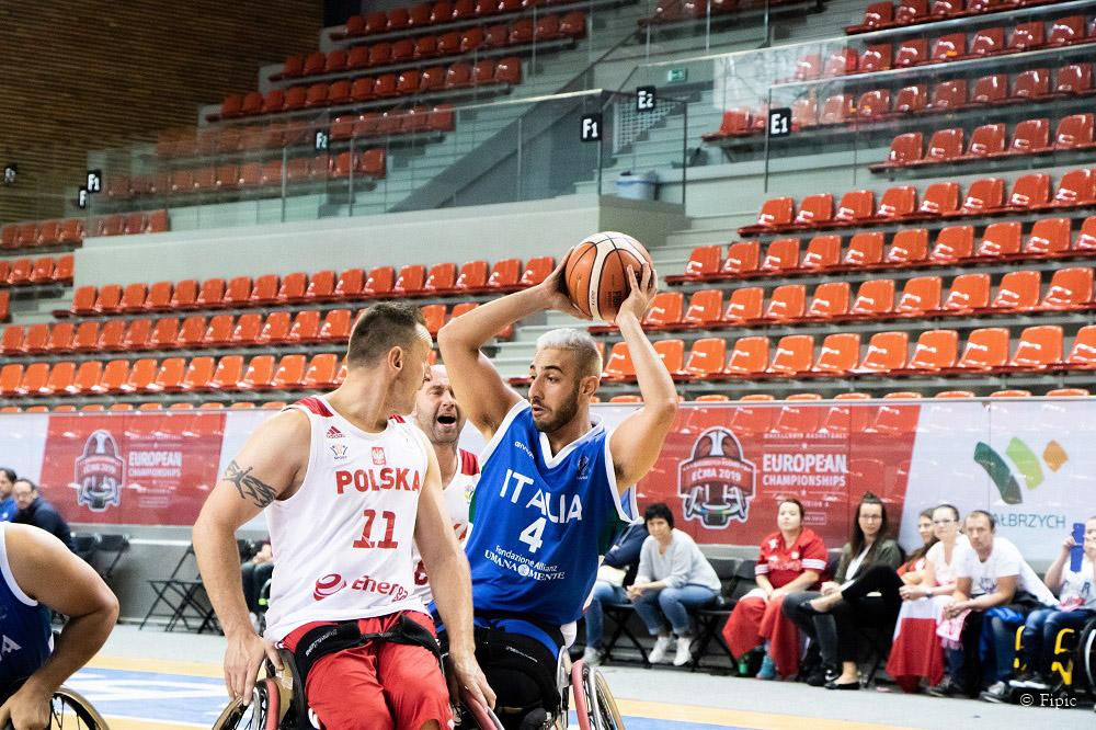 Europei basket in carrozzina - L'Italia chiude quinta con tanti rimpianti