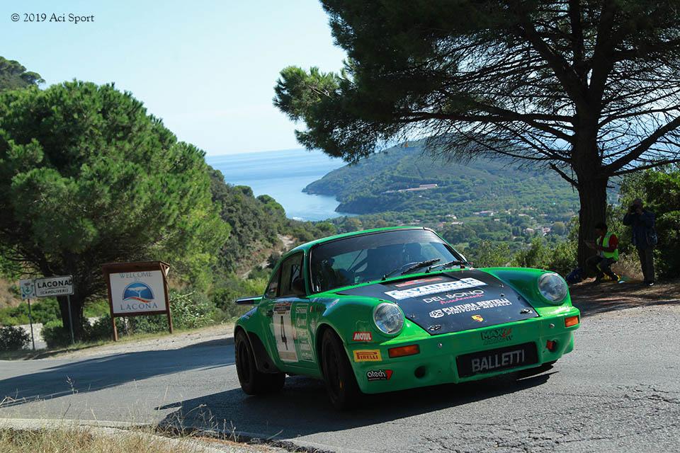 Rallye Elba Storico: trionfo per Salvini e Tagliaferri su Porsche 911 RS