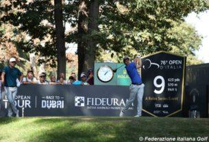 76° Open d'Italia Golf, eliminato Molinari. Bene Andrea Pavan ottavo