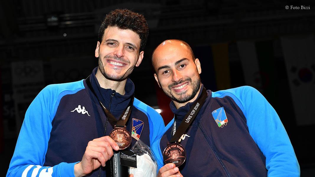 Scherma - Cassarà e Foconi terzi a Bonn in Coppa del Mondo