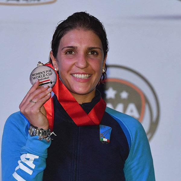 Arianna Errigo trionfa al Cairo in Coppa del Mondo di fioretto