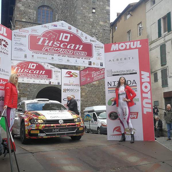 Campionato Italiano Rally - Crugnola leader dopo la prima giornata