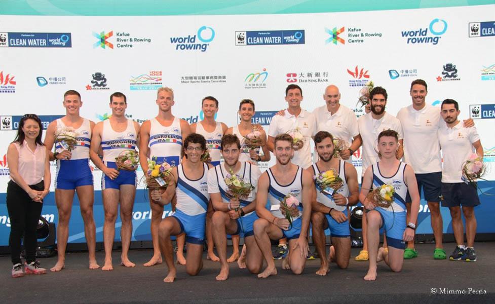 Mondiali Coastal Rowing - Tre medaglie per le imbarcazioni azzurre