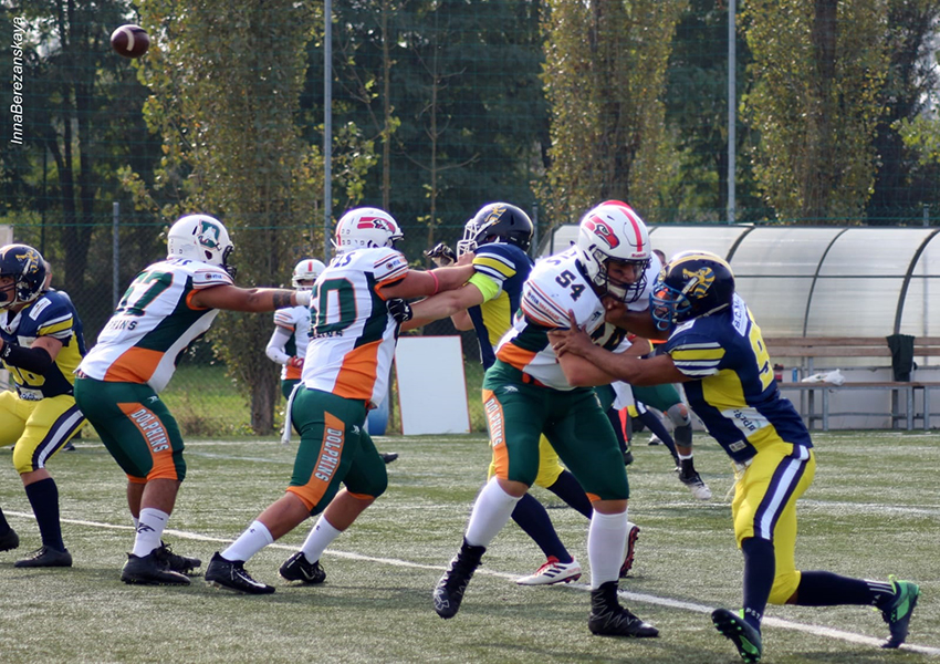 Football Americano - Un weekend intenso con 22 sfide in programma