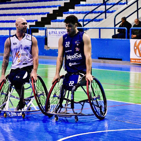 Basket in carrozzina - S.Stefano e Santa Lucia soli al comando