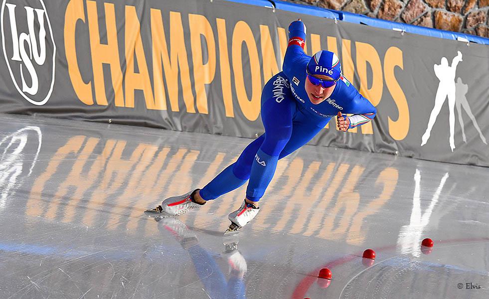Europei Pista Lunga - Super Lollobrigida di bronzo nei 3000 metri