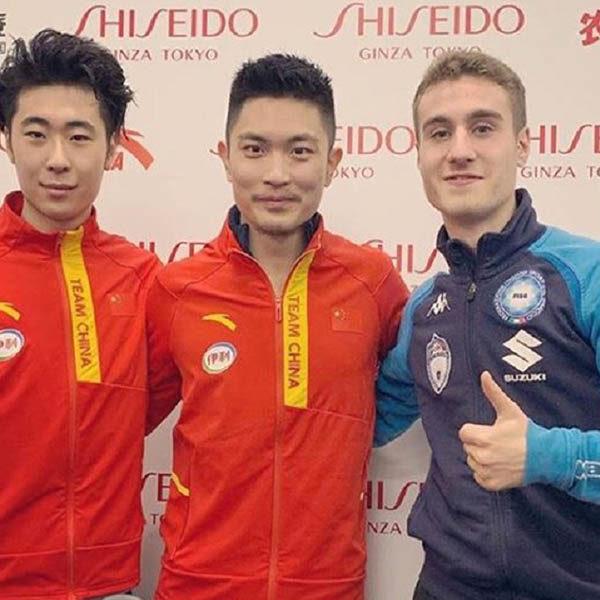 Matteo Rizzo grandissimo terzo nella Cup of China