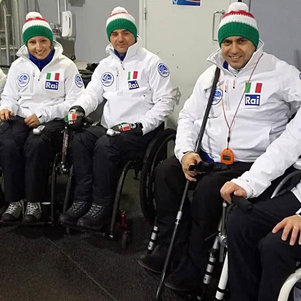 Wheelchair curling - L'Italia centra un doppio successo ai Mondiali