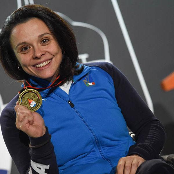 Rossana Pasquino trionfa ad Amsterdam nella sciabola paralimpica