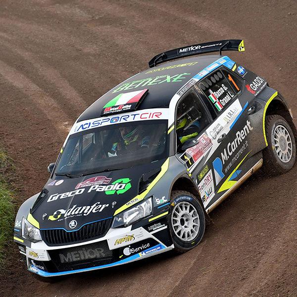Campionato Italiano Rally - Trionfano Basso-Granai su Skoda Fabia R5