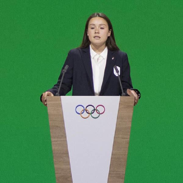 Elisa Confortola portabandiera azzurra ai Winter Youth Olympic Games