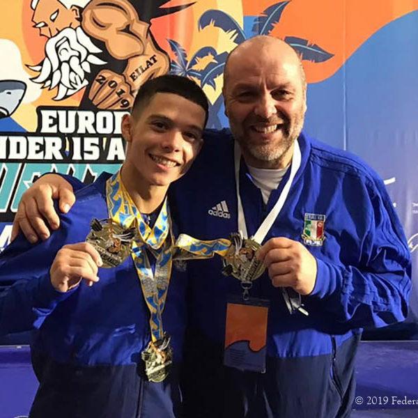 Pesistica - Sergio Massidda è il nuovo Campione Europeo Youth
