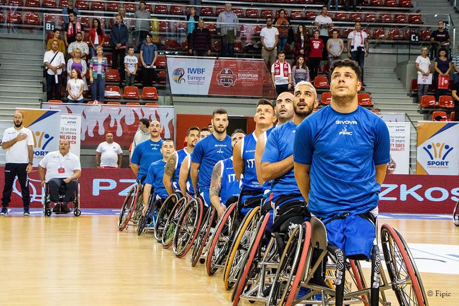 Basket in carrozzina – A Lanciano l'ultimo raduno del 2019 per gli azzurri