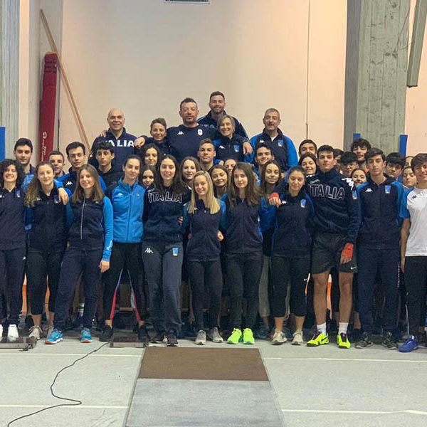 Scherma - La Nazionale Under 20 di sciabola in ritiro a Norcia