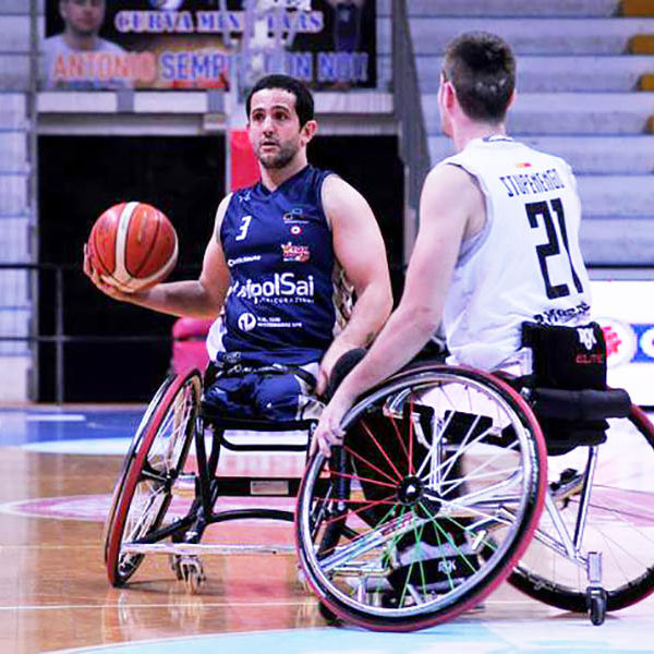 Basket in carrozzina - Volano S.Stefano e Cantù, S.Lucia al terzo posto