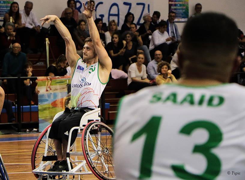 Basket in carrozzina - Vincono le prime quattro della classifica