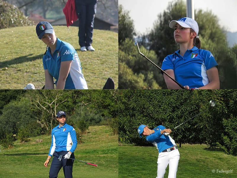 Golf - Poker azzurro all'Augusta National Women's Amateur Championship