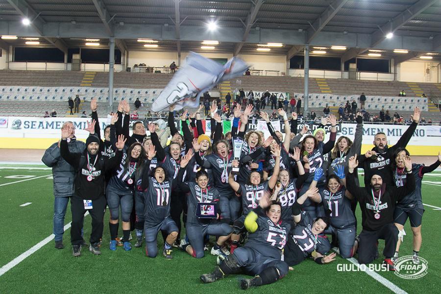 Football Americano - Under 13 e Rose Bowl a Daemons e Underdogs