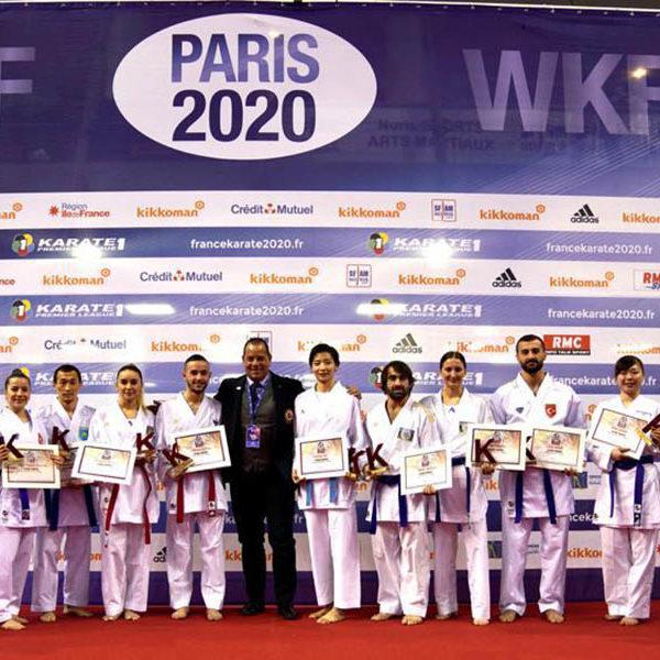 Karate Premier League: a Parigi cinque medaglie per la Nazionale Italiana