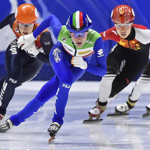 Short Track - A Dresda riparte la Coppa del Mondo