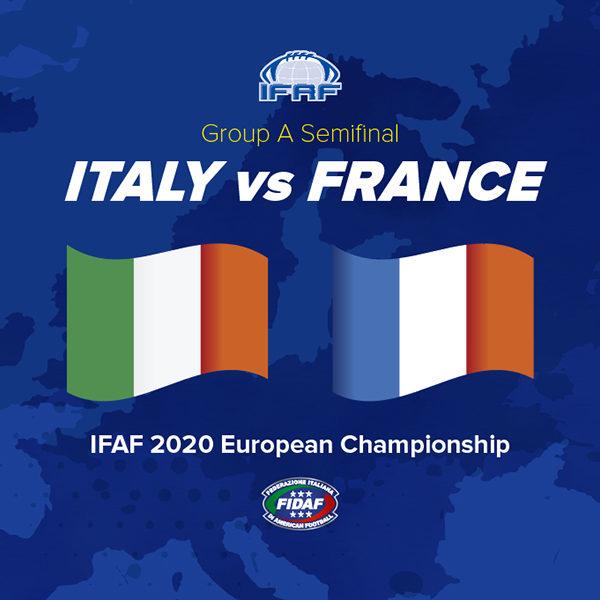 Europei Football Americano: in casa la semifiinale contro la Francia