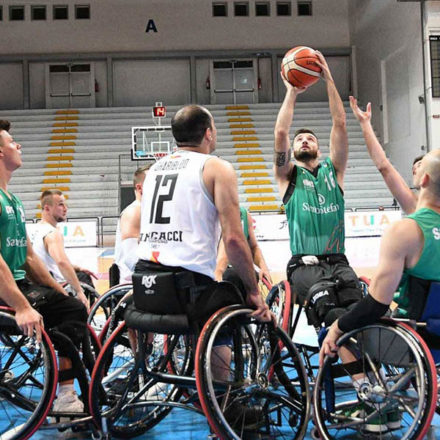 Basket in carrozzina - Riparte la Serie A con due big match