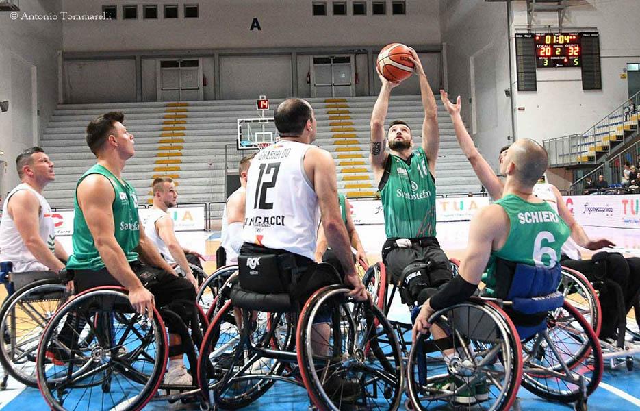 Basket in carrozzina - Riparte la Serie A con due big match